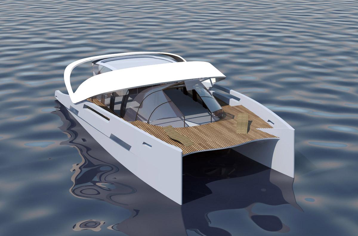 Oxygene Yachts Air 66 Power Catamaran The Most Compact Catamaran